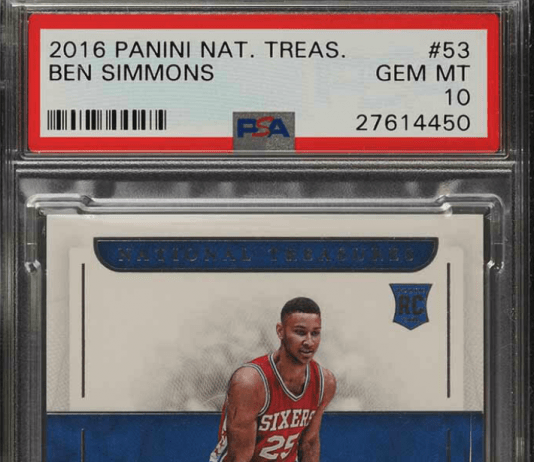 ben simmons rookie cards