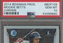 mookie betts rookie card
