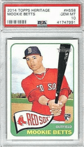 Topps Heritage Mookie Betts