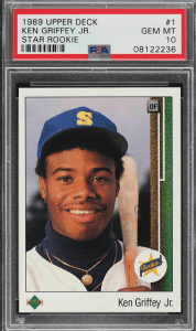 best upper deck baseball cards