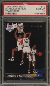 Shaquille O'Neal Rookie Card