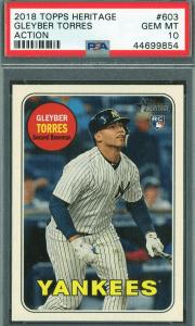 2018 Gleyber Torres Topps Heritage