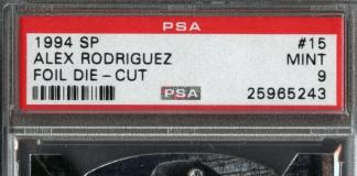 alex rodriguez upper deck rookie card