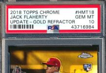 Jack Flaherty Rookie Card