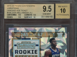 Zion Williamson rookie cards