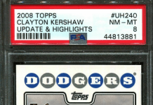 Clayton Kershaw rookie card ebay