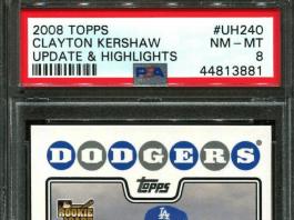 Clayton Kershaw rookie card ebay