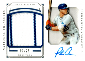 pete alonso rookie card ebay