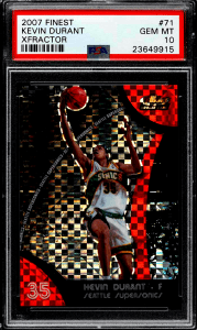 kevin durant rookie year