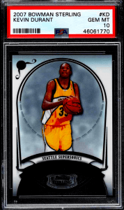 Kevin Durant bowman sterling