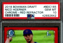 Nico Hoerner rookie card