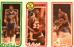 1980 Magic Johnson Topps 111