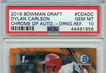 Dyan Carlson Rookie Card