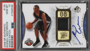 SP Authentic Russell Westbrook