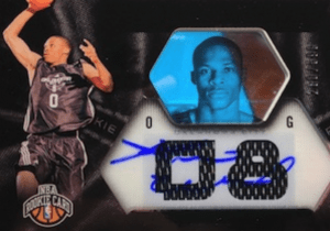 Russell Westbrook thread rookie card