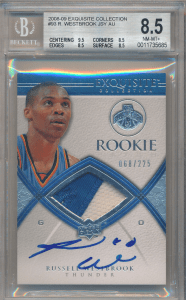 Russell Westbrook rookie cards