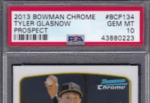 tyler glasnow rookie cards