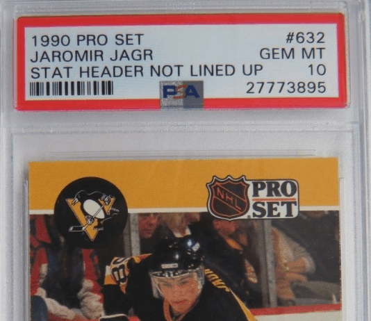 Jaromir Jagr Rookie Card Pro Set