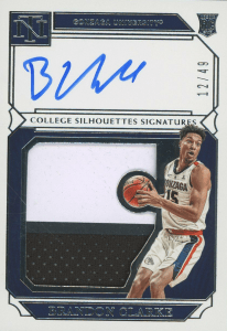 National Treasures Collegiate Brandon Clarke