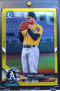 Jesus Luzardo Bowman Chrome Prospects