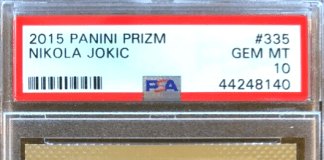 Nikola Jokic rookie cards