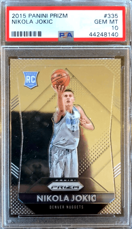 Nikola Jokic rookie card