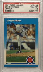 greg maddux fleer rc