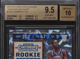 rj barrett cracked ice rookie card