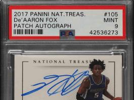 De'Aaron Fox rookie cards