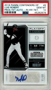 luis robert rookie card ebay