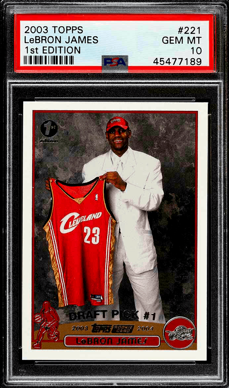 Lebron James Rookie Card Top 10 Cards And Buyers Guide 2020