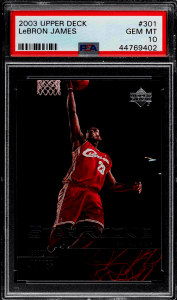 top 20 lebron james rookie cards