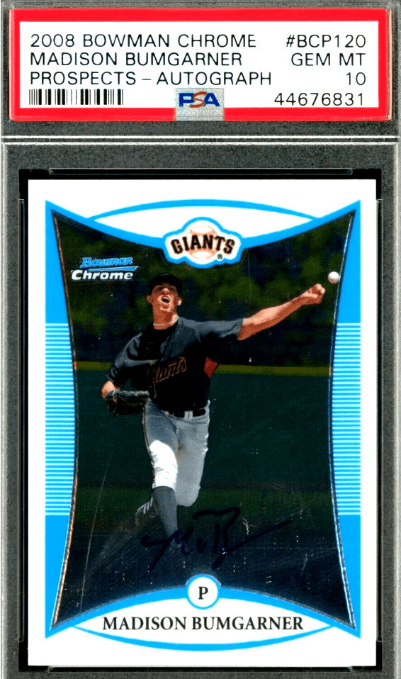 Madison Bumgarner Rookie Card