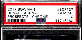 ronald acuna jr rookie card