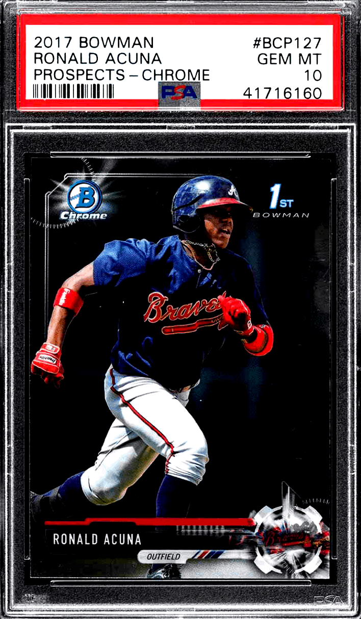Ronald Acuna Jr. Rookie Card – Best 7 Cards, Value, Investment Outlook
