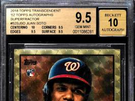 Juan Soto Rookie Card value