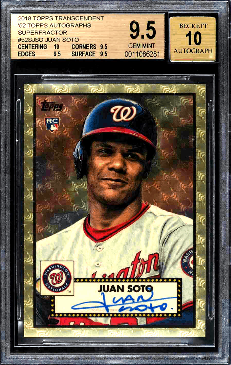 Juan Soto Rookie Card – Best 6 Cards, Value, Checklist, and Investment Outlook