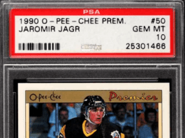 jaromir jagr upper deck rookie cards