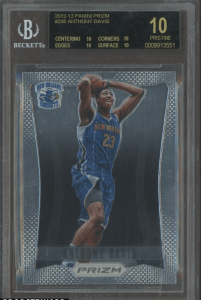 anthony davis prizm rookie card