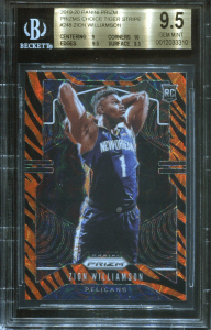 Zion Williamson Prizm card