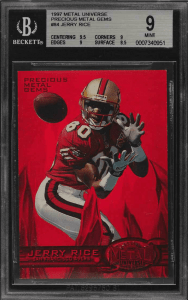 jerry rice metal gem