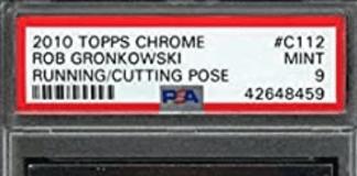 Rob Gronkowski rookie card