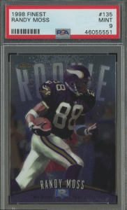 randy moss rookie year