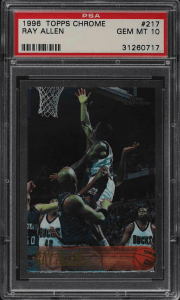 Ray Allen rookie card topps