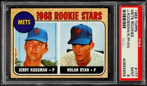 1968 Nolan Ryan Rookie Card