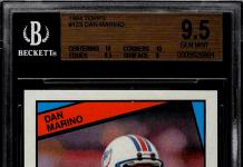 Dan Marino Rookie Card
