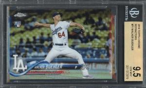 Walker Buehler topps rookie card