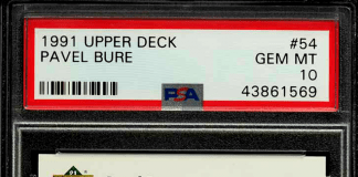 pavel bure rookie card rollerblades