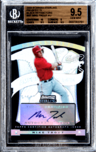 2009 Mike Trout Bowman Sterling