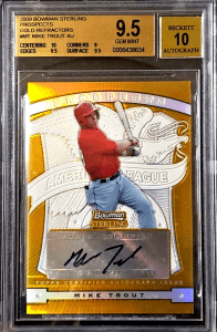underrated mike trout cards